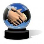 Handshake Crystal Ball